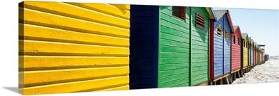 Colorful Beach Huts Cape Town IV