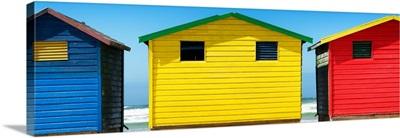 Colorful Beach Huts III
