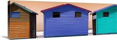 Colorful Beach Huts IV