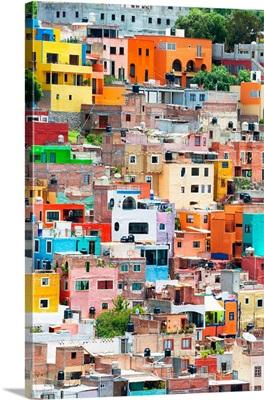 Colorful City XII, Guanajuato