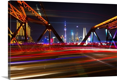 Colorful Garden Bridge, Shanghai