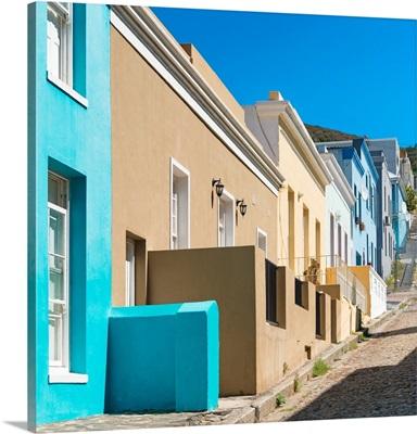 Colorful Houses, Bo-Kaap, Cape Town III