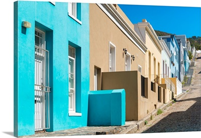 Colorful Houses - Cape Town