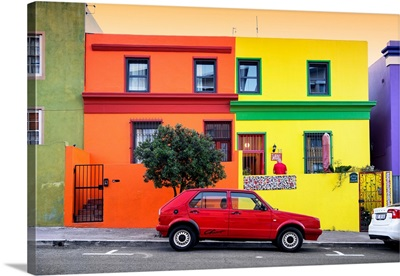 Colorful Houses - Cape Town I