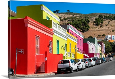 Colorful Houses - Cape Town III