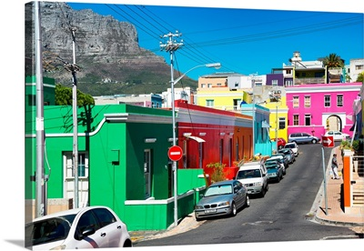 Colorful Houses - Cape Town IX