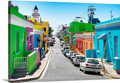 Colorful Houses - Cape Town XIV