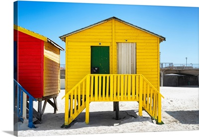 Colorful Houses - Eight and Nine Yellow