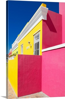 Colorful Houses - Ninety-One Yellow and Deep Pink