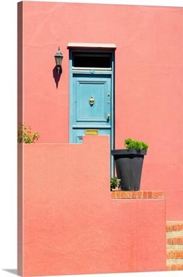 Colorful Houses - Salmon Wall
