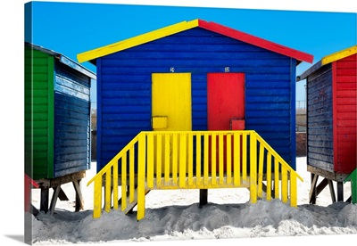 Colorful Houses - Thirty One and Thirty Two Blue