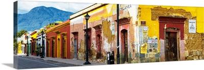 Colorful Street in Oaxaca IV