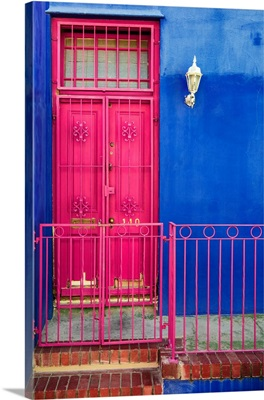 Colors Gateway Pink and Royal Blue