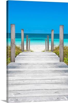 Cuba Fuerte Collection - Boardwalk on the Beach