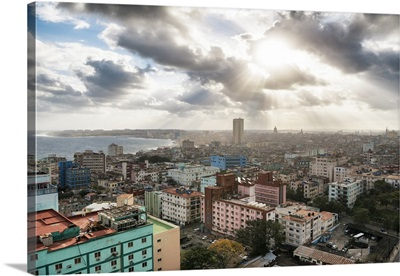 Cuba Fuerte Collection - Rays of light on Havana