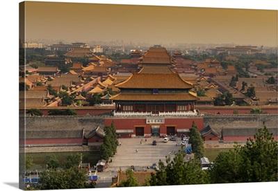 Forbidden City at Sunset