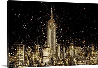Golden Collection - Manhattan Skyline