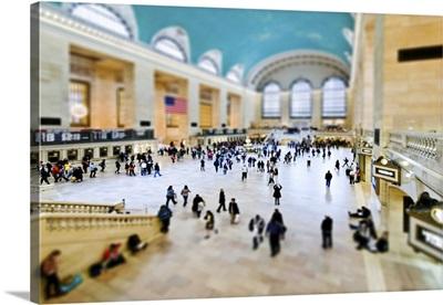 Grand Central Station, New York - Tilt Shift Series
