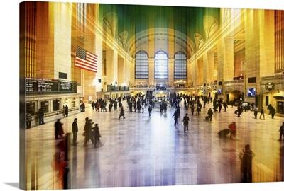 Grand Central Station, New York - Urban Stretch Series