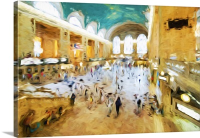 Grand Central Terminal II, Oil Painting Series