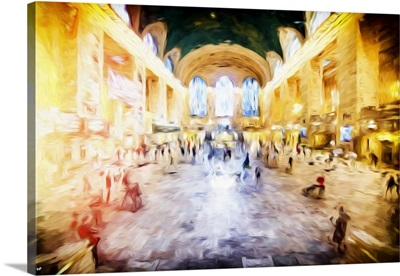 Grand central Terminal, Oil Painting Series