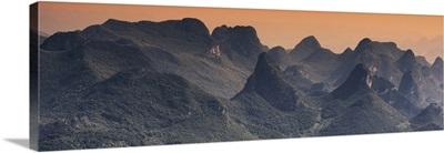 Guilin National Park at Sunset