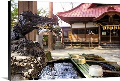 Japan Rising Sun Collection - Bronze Water Dragon Fountain