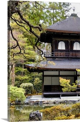 Japan Rising Sun Collection - Ginkakuji Temple Kyoto