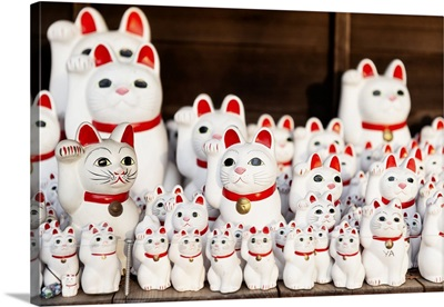Japan Rising Sun Collection - Japanese Lucky Cat Statues Temple