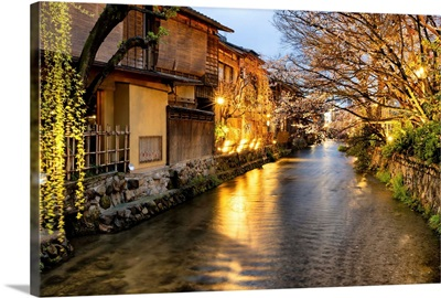 Japan Rising Sun Collection - Kyoto Japan Spring River View