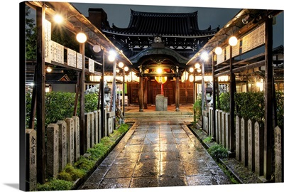 Japan Rising Sun Collection - Kyoto Temple By Night