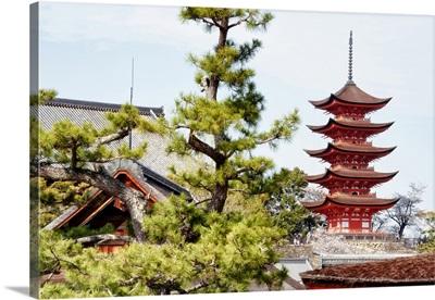 Japan Rising Sun Collection - Miyajima Pagoda