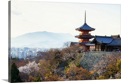 Japan Rising Sun Collection - Pagoda Kiyomizu-Dera Temple