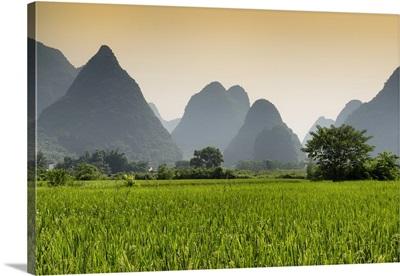 Karst Mountains in Yangshuo