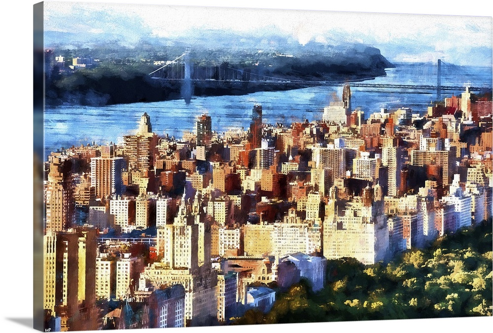 Manhattan Upper West Side, NYC Painting Series