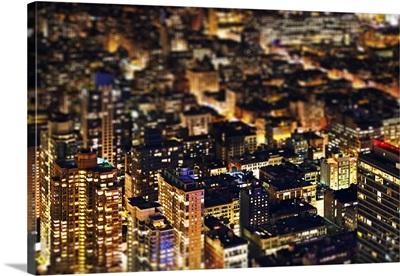 New York at Night - Tilt Shift Series