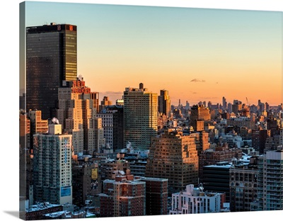New York City - Cityscape at Sunset