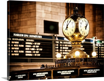 New York City - Clock Grand Central Station