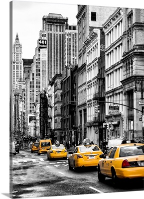 New York City - Taxis Traffic