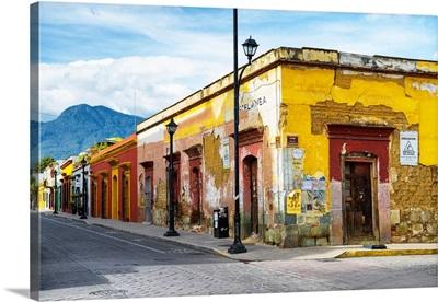 Oaxaca City Street