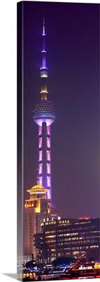 Oriental Pearl Tower at Night, Shanghai