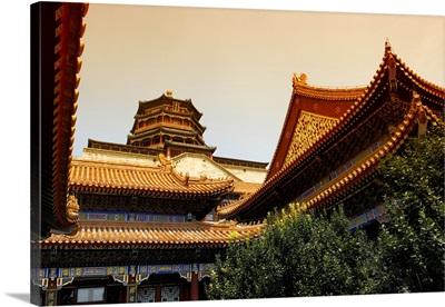 Pavilion of Buddhist, Summer Palace