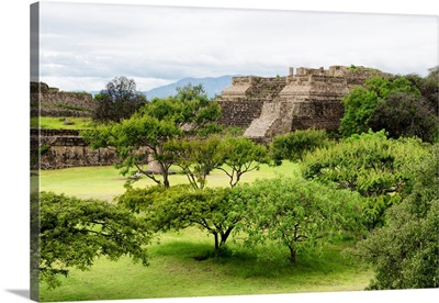 Pyramid of Monte Alban