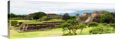 Pyramid of Monte Alban II