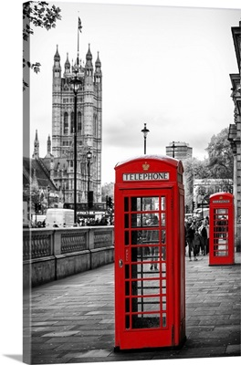 Red Telephone Booths, London