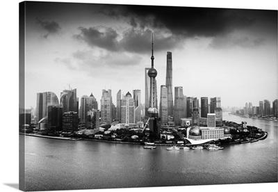 Shanghai Skyline with Oriental Pearl Tower