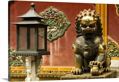 Statue of Imperial Palace of Forbidden City