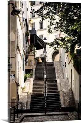 Steps to Montmartre - Paris