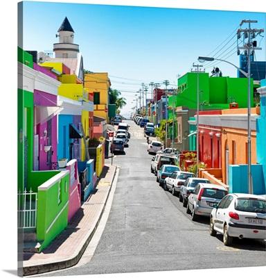 Street in the Bo-Kaap of Cape Town II
