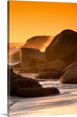 Sunset on Sea Stacks II